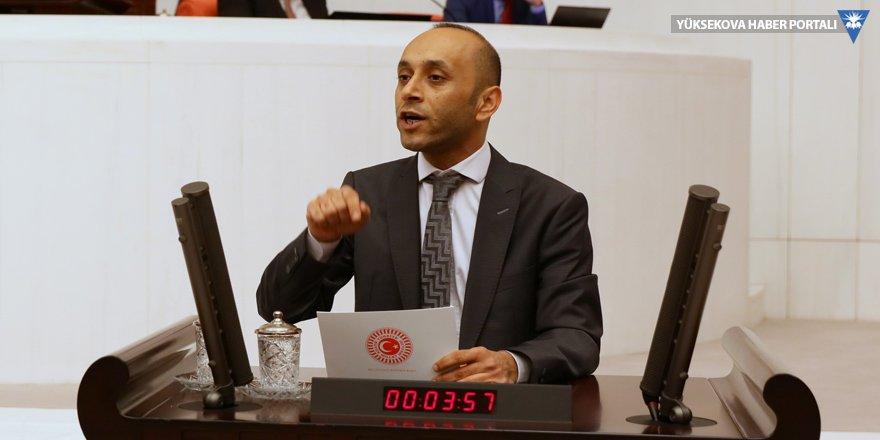 HDP'li Sait Dede, Sertip Şen'in ölümünü Meclis'e taşıdı