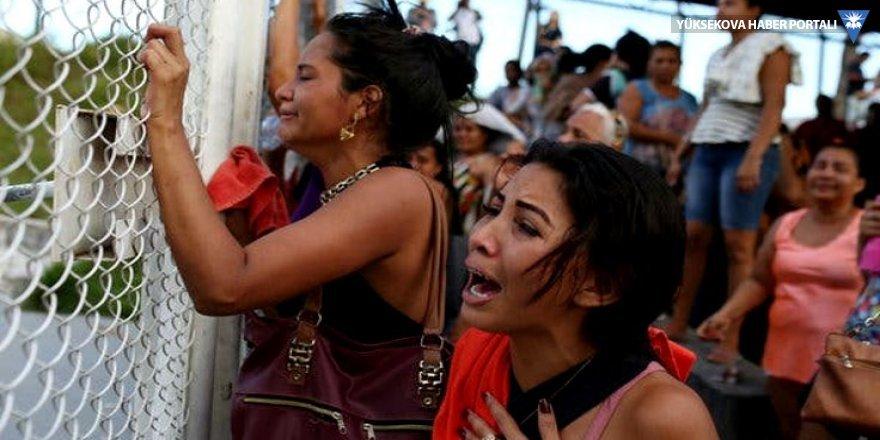 Brezilya'da cezaevinde 2 günde 55 mahkum öldü