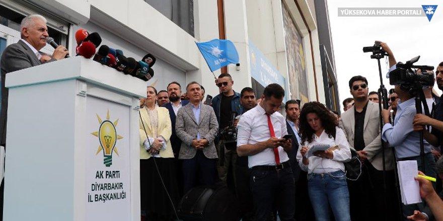 Yıldırım, Diyarbakır'daydı: Kürdistan mebusu vardı