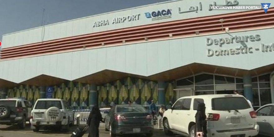 Suudi havalimanına füze: 26 kişi yaralandı