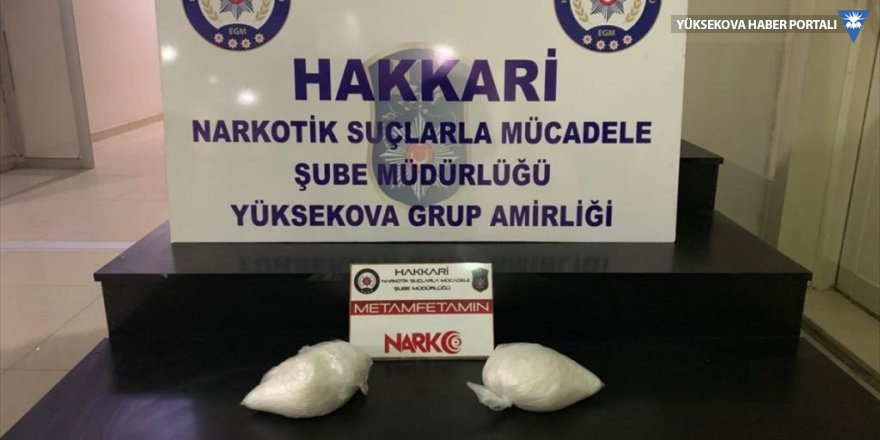 Yüksekova'da 2 kilo 20 gram uyuşturucu ele geçirildi