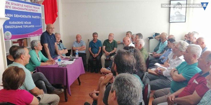 HDP'den Karadeniz konferansı: Duvarlar yıkılmalı