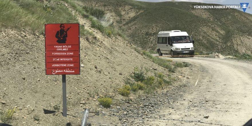 Hakkari'de bazı alanlar yasaklandı
