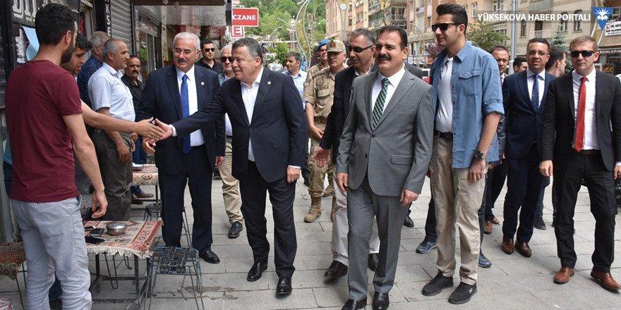 Yargıtay Başkanı İsmail Rüştü Cirit, Hakkari'ye geldi