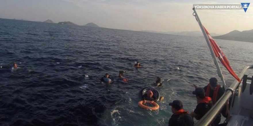 Bodrum'da mülteci teknesi battı: 12 ölü