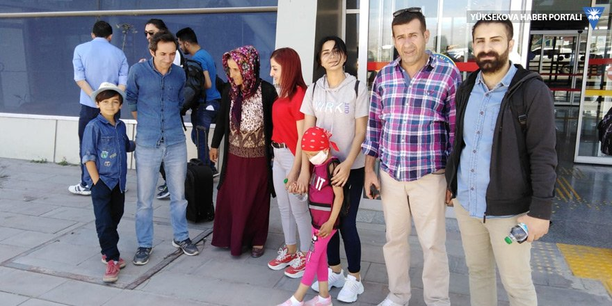 Yüksekovalı Zozan, tedavi için Ankara'ya gitti