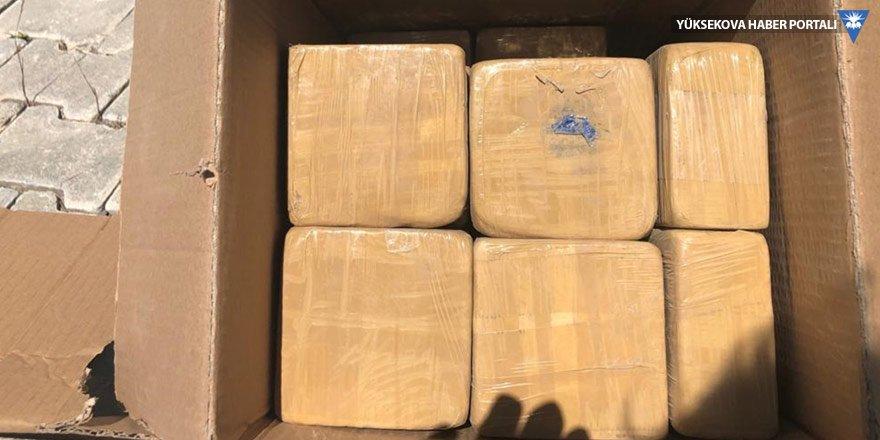 Van'da 103 kilo eroin bulundu