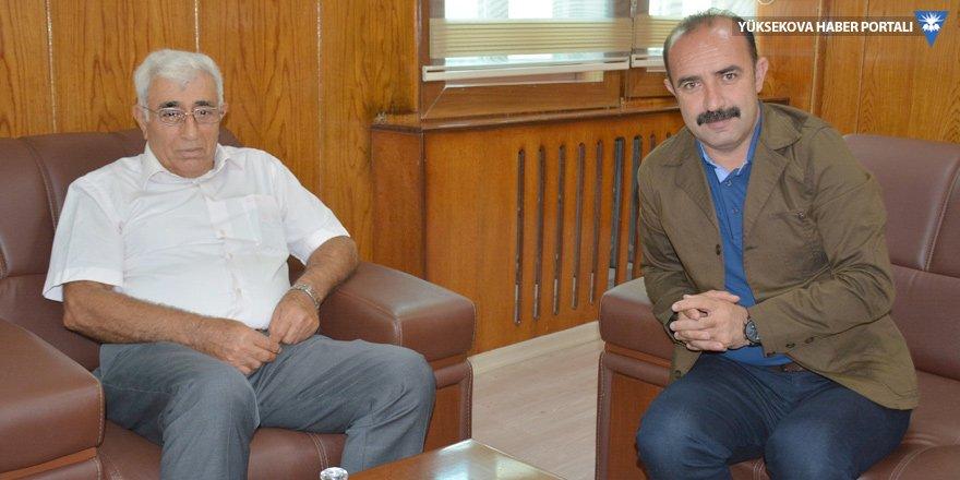 Eski Başkan Ümit'ten Cihan Karaman'a ziyaret
