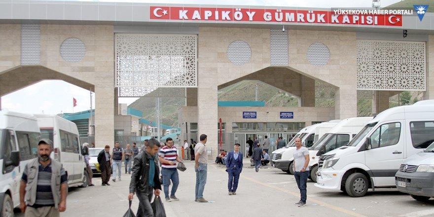 Van'da tüccarlar Kapıköy Sınır Kapısı'nın açılmasını istedi