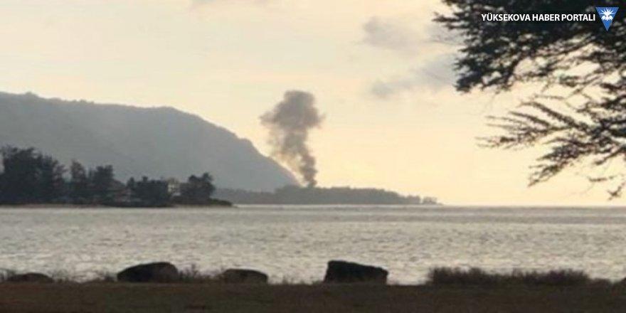 Hawaii'de uçak düştü: 9 kişi öldü