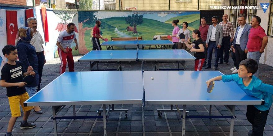Hakkari Belediyesi'nin yaz kursları başladı