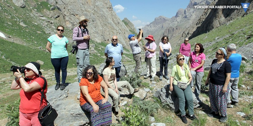 Hakkari'nin dağ ve yaylalarına turist ilgisi