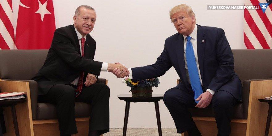 Erdoğan Trump'la görüşüyor