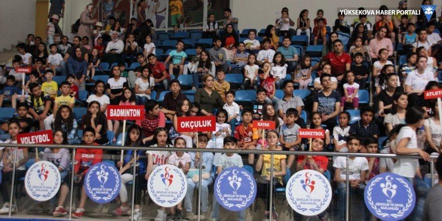 Hakkari'de yaz spor okulları başladı