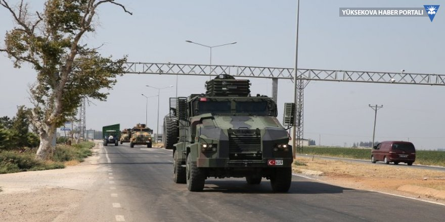 Suriye sınırına asker sevkiyatı