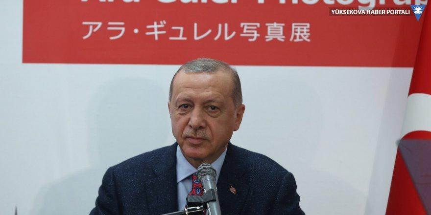 Erdoğan Japonya'da Ara Güler sergisi açtı