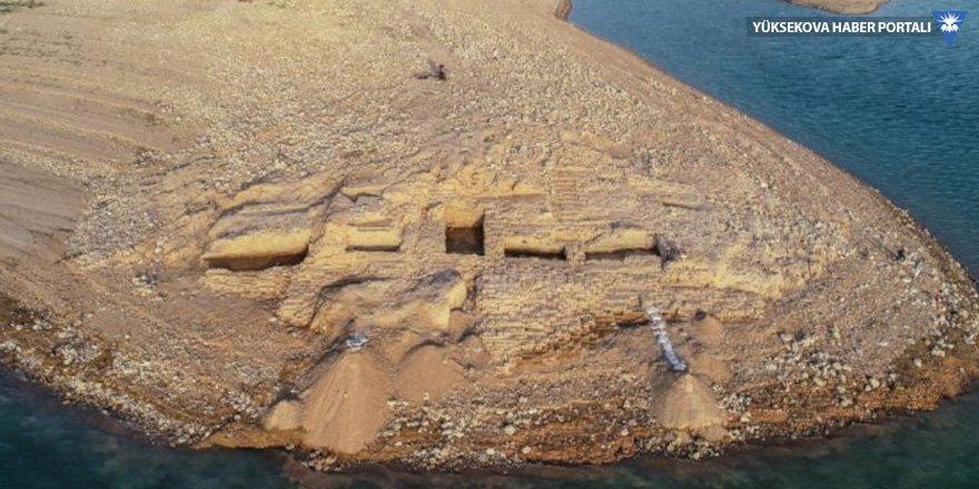 Dicle çekildi, Mitanni sarayı ortaya çıktı