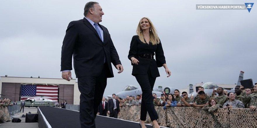 Trump'tan kızı Ivanka ile bakan Pompeo'ya: Güzel ve çirkin!