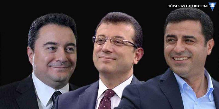 Türkiye'nin geleceği için öne çıkan üç isim: Babacan, Demirtaş, İmamoğlu