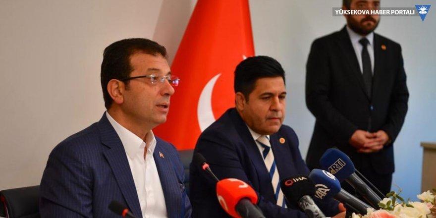 İmamoğlu'ndan siyasi partilere ziyaret