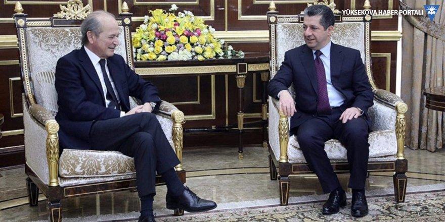 Mesrur Barzani Fransa'nın Suriye Özel Temsilcisi'yle görüştü