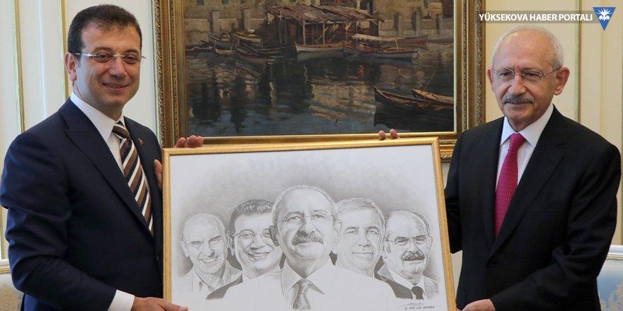 Kılıçdaroğlu'ndan İmamoğlu'na ziyaret