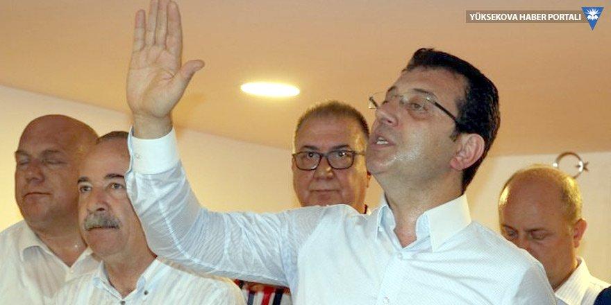 İmamoğlu: Parti içi yarışları bir kenara koyacağız