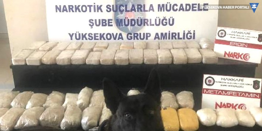 Yüksekova'da 29 kilo 320 gram uyuşturucu ele geçirildi