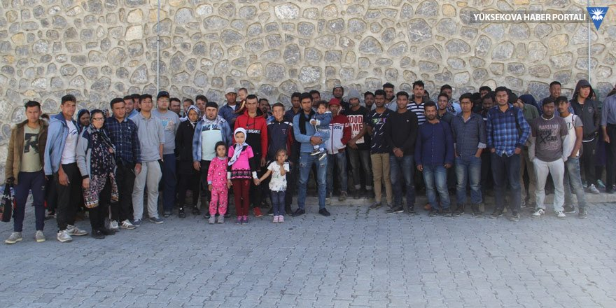 Başkale'de 115 göçmen yakalandı