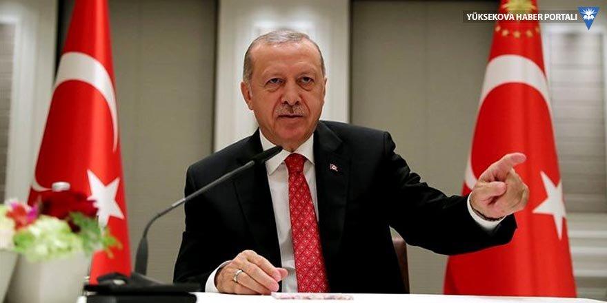 Erdoğan medya temsilcileriyle bir araya geldi