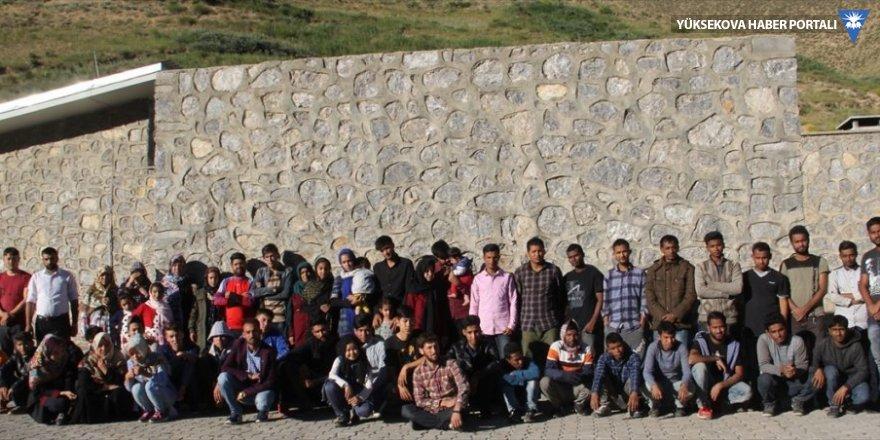 Van'da 59 göçmen yakalandı