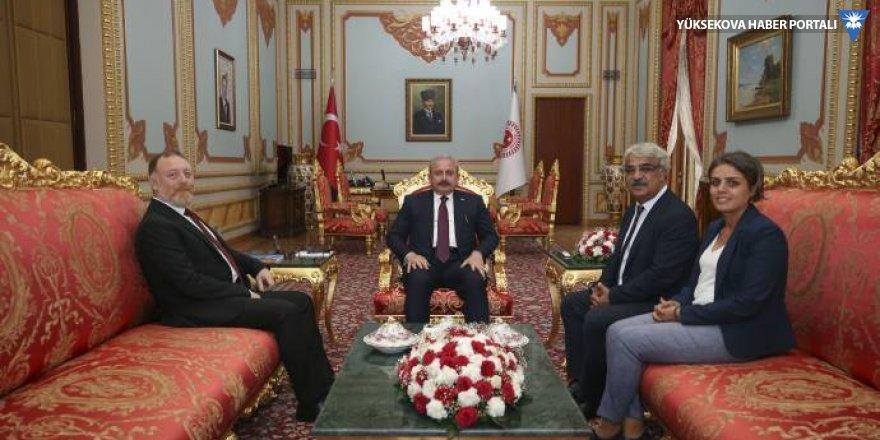 HDP'den Şentop'a gecikmeli tebrik ziyareti