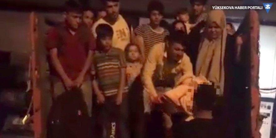 Van'da 52 göçmen yakalandı