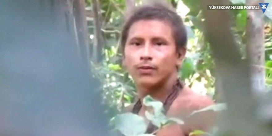 Amazon kabilesi ilk kez görüntülendi