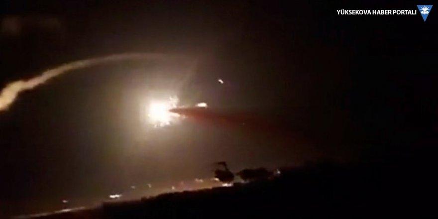 İsrail Suriye'yi füzelerle vurdu