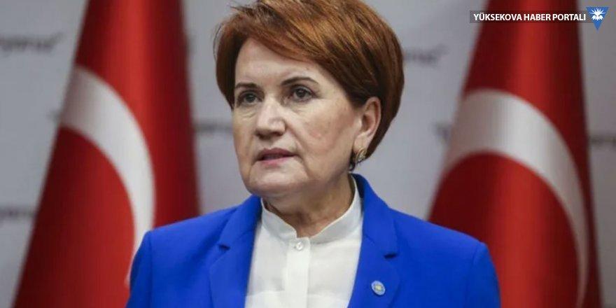 Akşener: AK Parti 2023 hedeflerinin çöp olduğunu itiraf etti