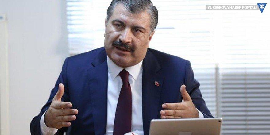 Sağlık Bakanı Koca: 11 bin kişi tarandı, Türkiye'ye giriş yapan şüpheli vaka yok