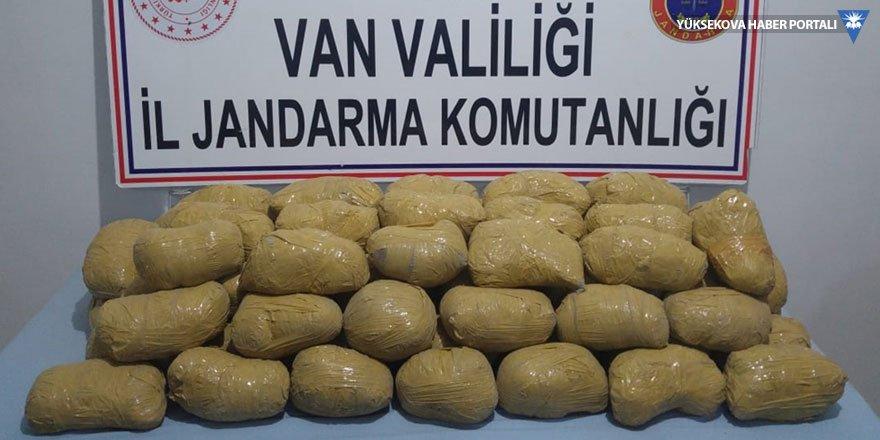 Van'da 75 kilogram eroin ele geçirildi