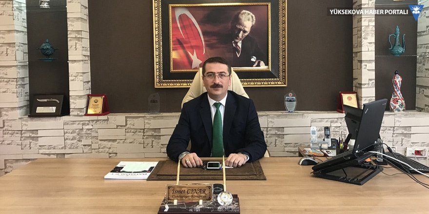 Hakkari'nin yeni Başsavcısı Çınar, görevine başladı
