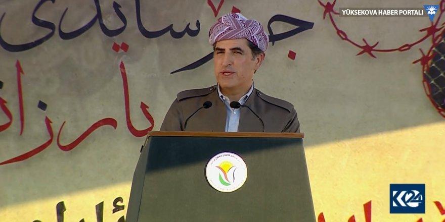 Neçirvan Barzani: Gözlerimiz Semave çöllerinde