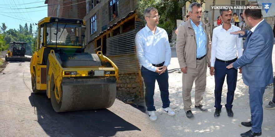 Eş Başkan Karaman asfalt çalışmalarını denetledi