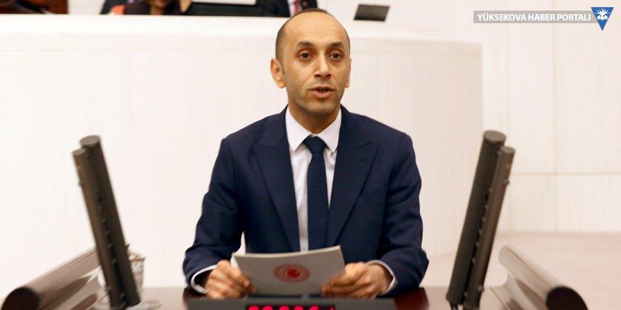 Dede, Yüksekova HDP Eski İlçe Başkanı'nın cezaevinde darp edildiği olayla ilgili soru önergesi verdi