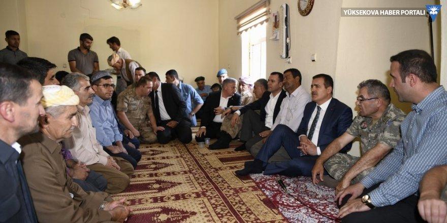 Vali Akbıyık'tan Ekinci ailesine ziyaret: Tabi biraz da coğrafi kader