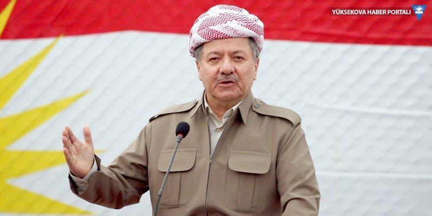 Mesud Barzani: Kürt kanının Kürt eliyle dökülmesine izin vermeyeceğiz