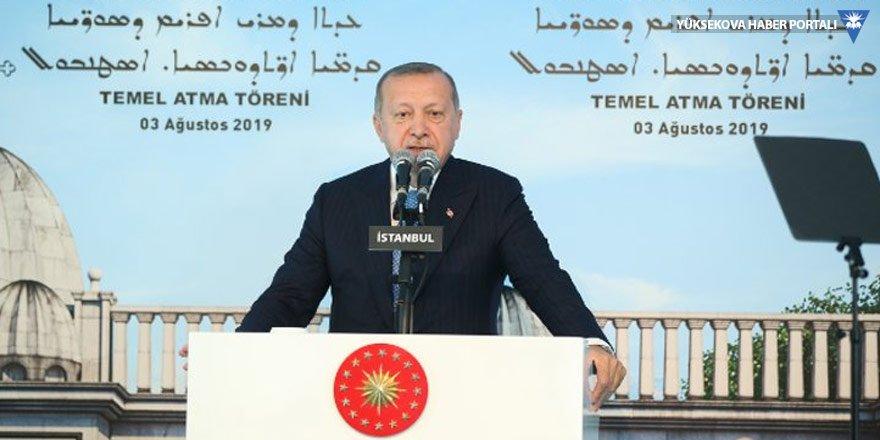 Erdoğan, Süryani kilisesinin temelini attı