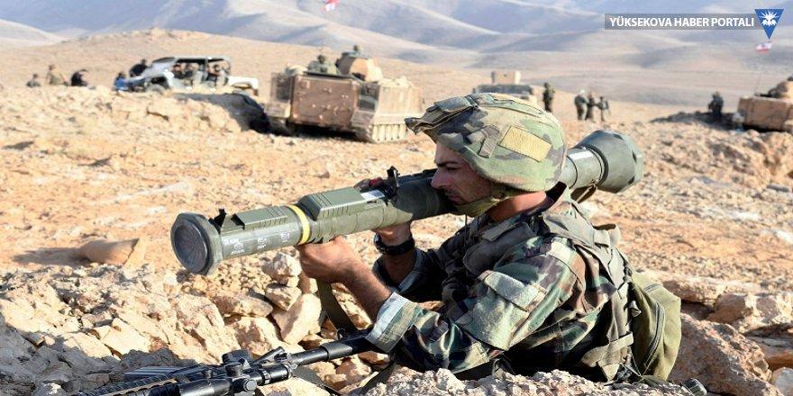 Suriye sınırına askeri takviye