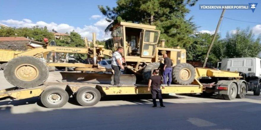 CHP kaybetti, Sarıyer Belediyesi iş makinesini geri aldı