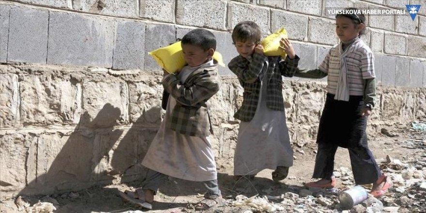 Yemen'de savaş nedeniyle bir yılda 335 çocuk öldü