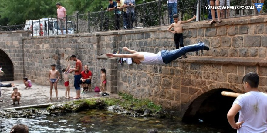 Cizre'de sıcaklık 46,8 dereceye çıktı