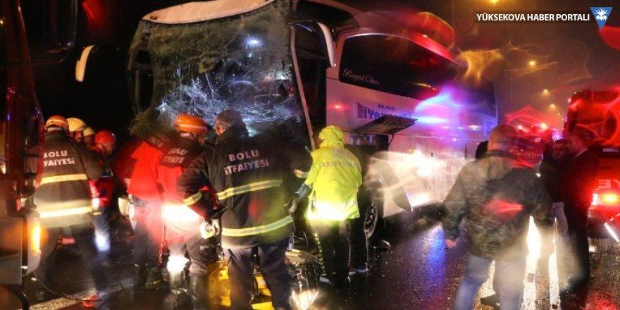 Diyarbakır otobüsü kaza yaptı: 30 yaralı